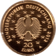 20 euros L'épicéa – avers