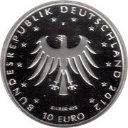 10 euros Contes des frères Grimm (argent) – avers