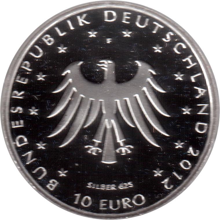 10 Euros Contes Des Frères Grimm Argent Allemagne République