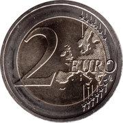 2 euros Traité de l'Élysée -  revers