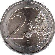 2 euros Bade-Wurtemberg – revers
