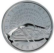 10 euros L'île aux musées de Berlin – revers