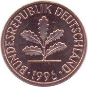 2 pfennig (acier plaqué bronze) -  avers