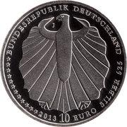 10 euros Blanche-Neige (argent) – avers