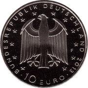 10 euros Georg Büchner (cupronickel) -  avers