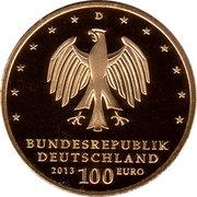 100 euros Jardins de Dessau-Wörlitz – avers