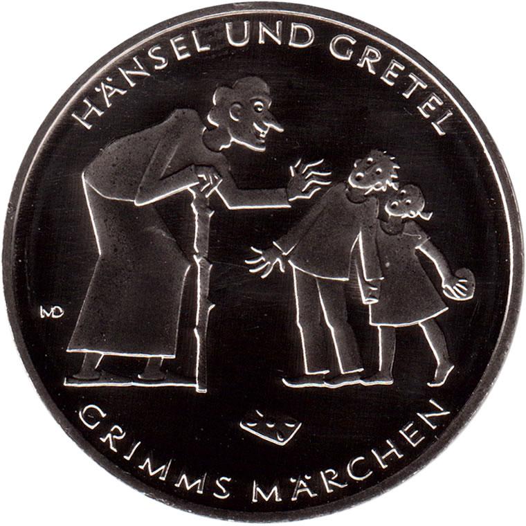 10 Euros Hansel Et Gretel Cupronickel Allemagne République