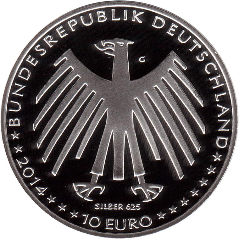 10 Euros Hansel Et Gretel Argent Allemagne République Fédérale
