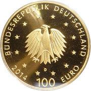 100 euros Abbaye de Lorsch – avers