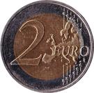 2 euros Mecklembourg-Poméranie-Occidentale – revers