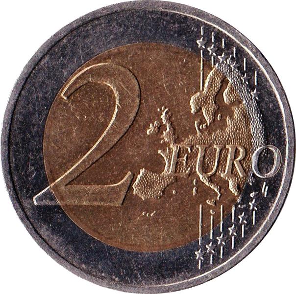 2 Euros Mecklembourg Poméranie Occidentale Allemagne République