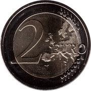 2 euros Hesse -  revers