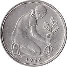 50 pfennig (Bundesrepublik Deutschland) – revers