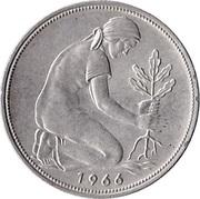 50 pfennig (Bundesrepublik Deutschland) -  revers