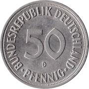 50 pfennig (Bundesrepublik Deutschland) -  avers