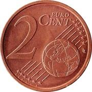 2 cents d'euro -  revers