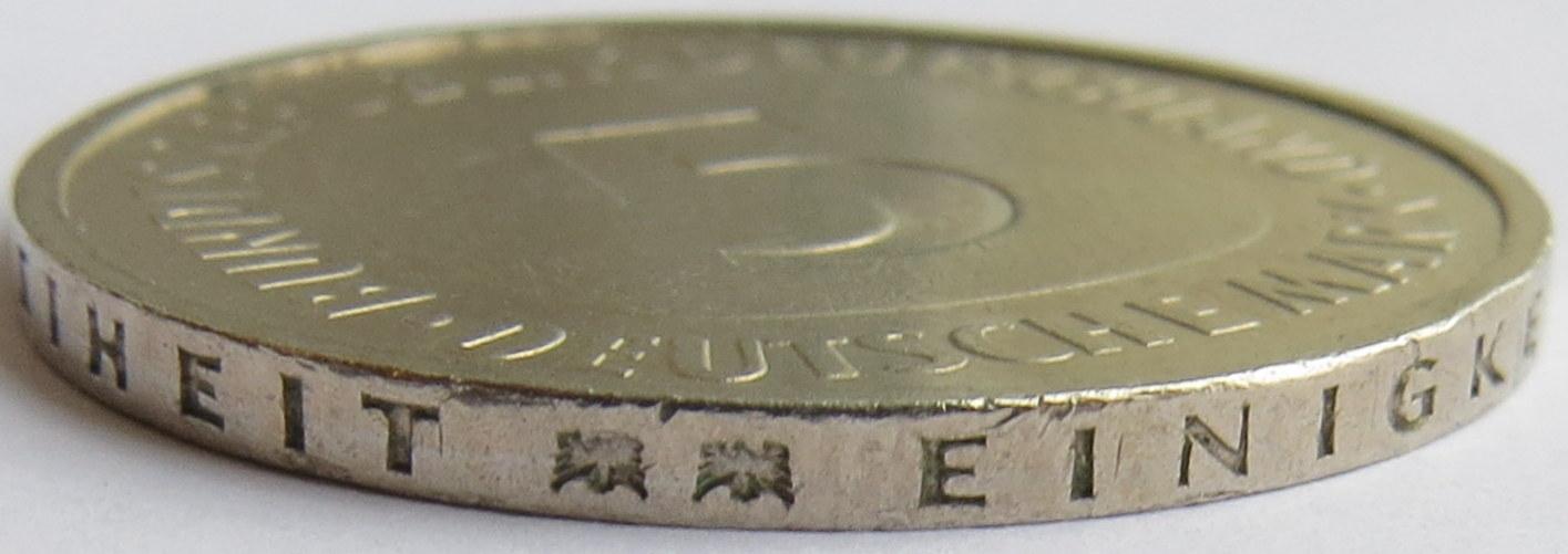 5 Deutsche Mark Allemagne République Fédérale Numista
