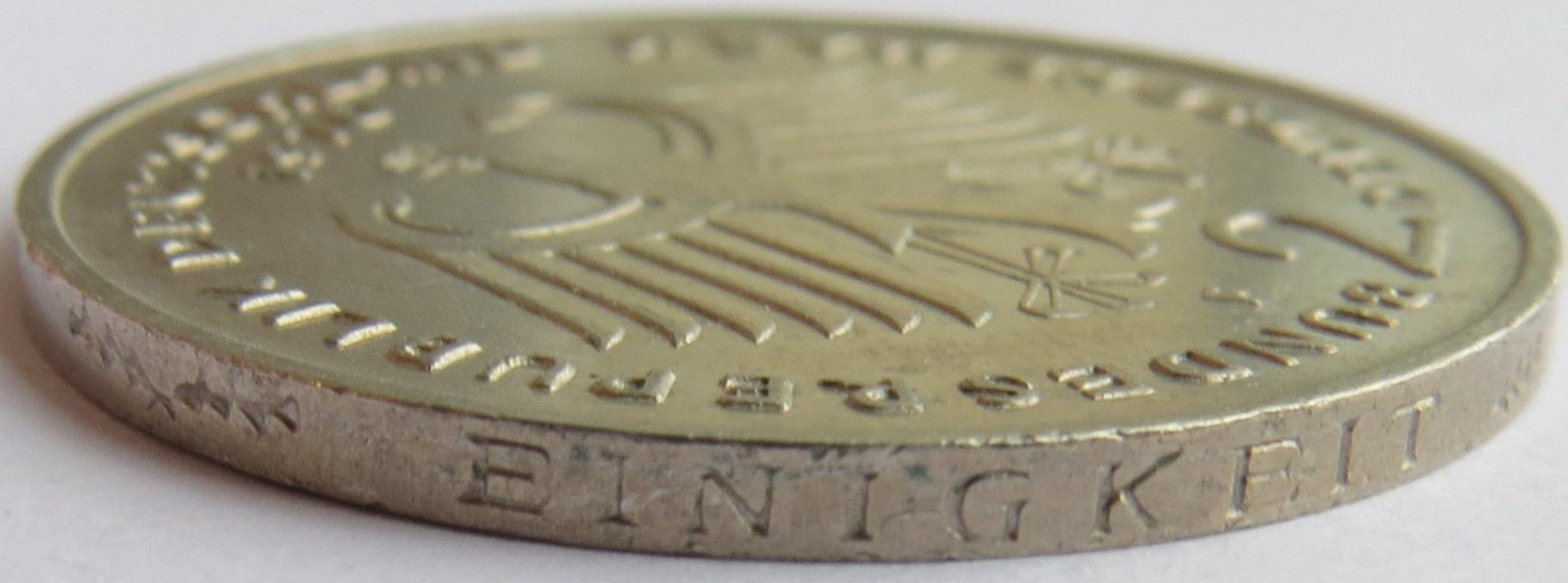 2 Deutsche Mark Konrad Adenauer Allemagne République Fédérale