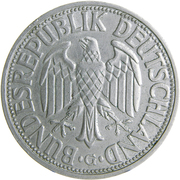 2 deutsche mark – avers