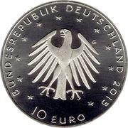 10 euros Lucas Cranach le jeune (cupronickel) -  avers