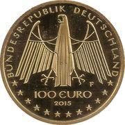 100 euros Vallée du Haut-Rhin moyen – avers