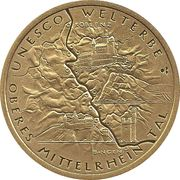 100 euros Vallée du Haut-Rhin moyen – revers