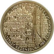 100 euros Ratisbonne – revers