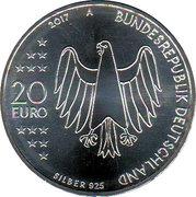 20 euros Réforme luthérienne -  avers