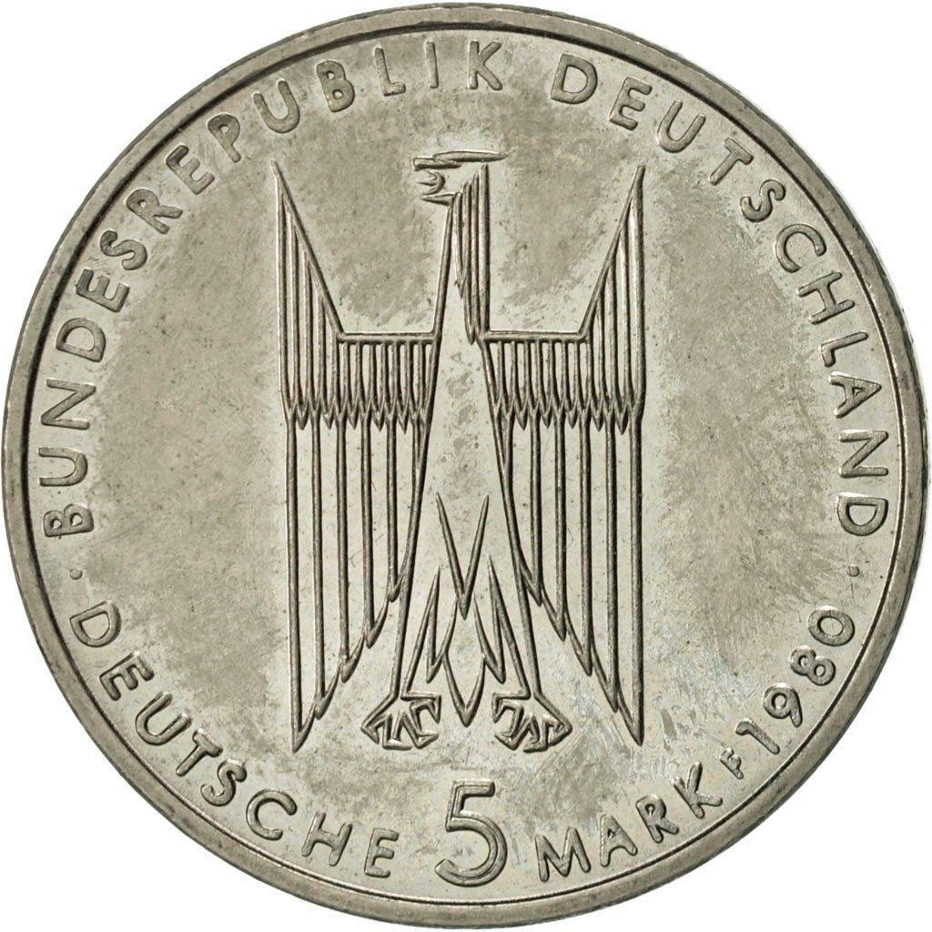 5 Deutsche Mark Kölner Dom Allemagne République Fédérale Numista