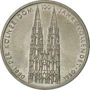 5 deutsche mark - Kölner Dom -  revers