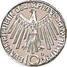 10 deutsche mark JO de Munich – avers
