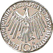 10 deutsche mark JO de Munich -  avers