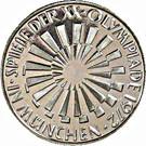 10 deutsche mark JO de Munich – revers