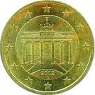 50 cents d'euro (1ère carte) – avers