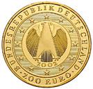 200 euros Introduction de l'euro – avers