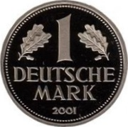 1 deutsche mark – revers