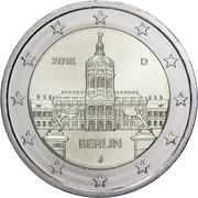 2 euros Berlin -  avers