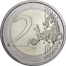 2 euros Berlin – revers