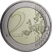2 euros Helmut Schmidt -  revers