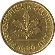 10 pfennig (Bundesrepublik Deutschland) -  avers