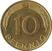 10 pfennig (Bundesrepublik Deutschland) -  revers