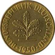 5 pfennig (Bundesrepublik Deutschland) -  avers