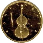 50 euros La contrebasse – avers