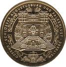 100 euros Châteaux d'Augustusburg et de Falkenlust – revers