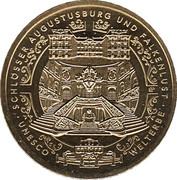 100 Euro (Schlösser in Brühl) – avers