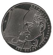 10 euros Gerhart Hauptmann (cupronickel) – revers