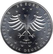 20 euros Ville de Rostock – avers