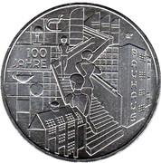 20 euros Bauhaus -  revers