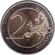 2 euros Rhénanie-Palatinat -  revers