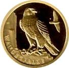 20 euros Le faucon pèlerin -  avers